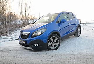 TEST: Opel Mokka på alle fire