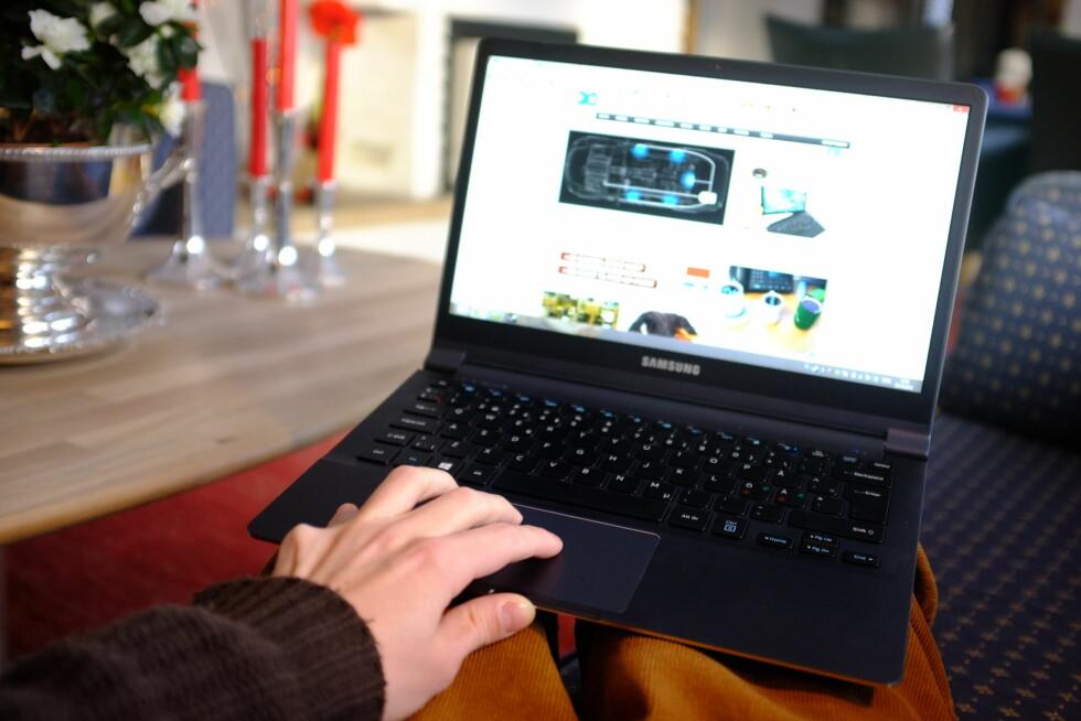 FRUSTRERENDE: Noen liker det, andre ikke. Om rulleretningen på PC-en din plutselig har blitt merkelig, kan det fikses.  Foto: Ole Petter Baugerød Stokke