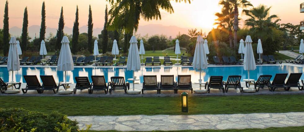 Barut Hotel Lara Resort Spa & Suites i Antalya, Tyrkia, er blant Vings mest populære all inclusive-hotell. Foto: Ving