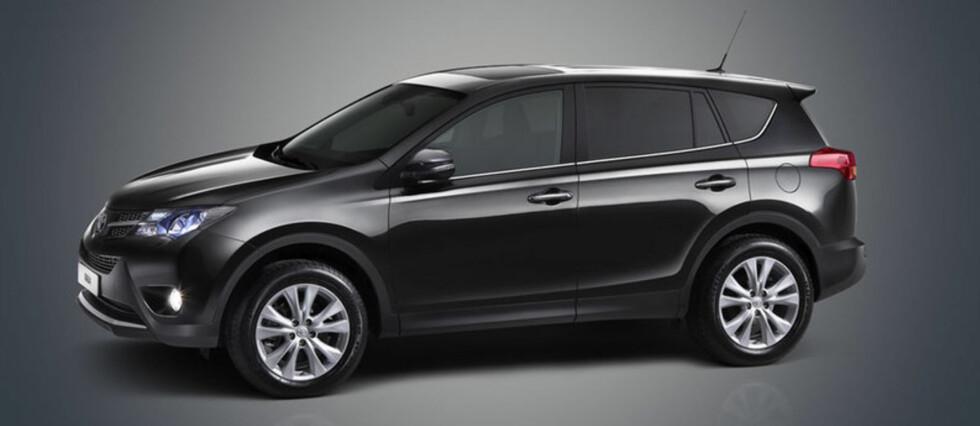 Ny RAV4 fra Toyota er blant de store nyhetene i 2013 Foto: Toyota