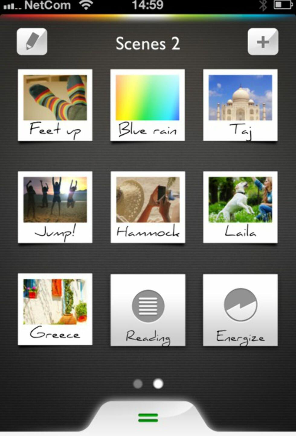 Du kan velge allerede definerte fargeprofiler, eller du kan lage din egen profil, gjerne ut ifra ditt eget bilde. Foto: Kristin Sørdal
