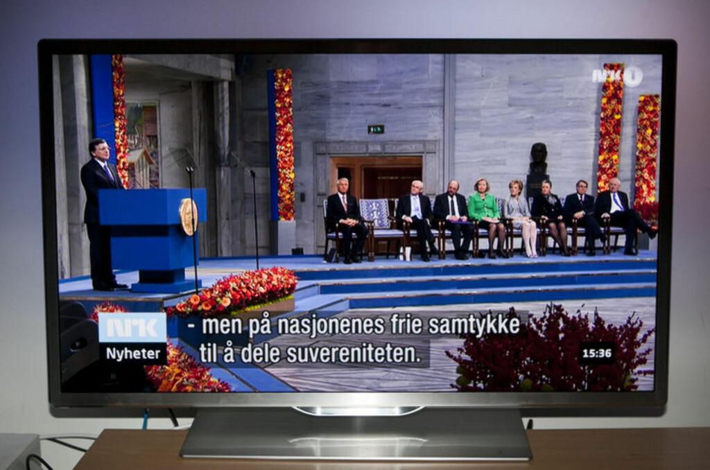 9707: Årets beste LED-TV. Foto: Per Ervland