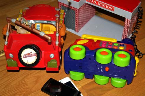 Batteridrevne leker skal ikke i restavfallet! Foto: Berit B. Njarga