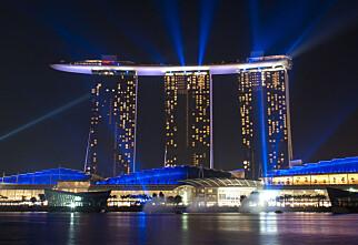 Marina Bay Sands Hotel er ikke helt vanlig