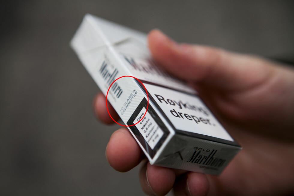 Helse- og omsorgsdepartementet foreslår at ti-pakninger skal bli forbudt. Foto: Per Ervland