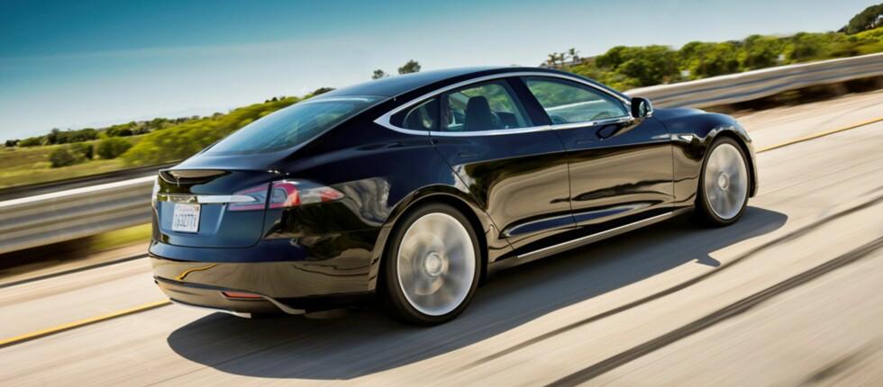 Nå er prisene for Norge klare. Model S får en knallpris.  Foto: Tesla Motors