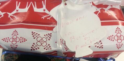 image: Her ligger de bortkomne julegavene