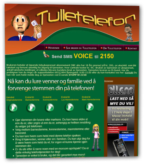 DYRT: M-Quest sin tjeneste Tulletelefon sendte minst 11.000 SMS-er til nordmenn, som kostet 200 kroner hver. Selskapet ble i Markedsrådet dømt til å betale 650.000 kroner i gebyr, og de nye reglene kan sette en stopper for slikt.