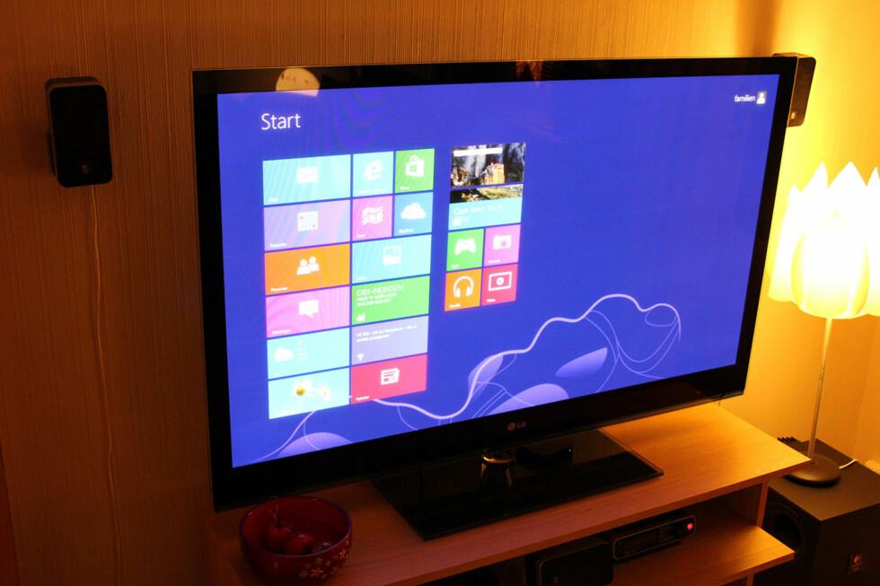 Å bygge mediesenter er enkelt og morsomt. Og Windows 8 var på plass bare 15 minutter etter at vi var ferdige med byggejobben. I denne artikkelen forteller vi deg om prosessen, og triller terningkast på delene vi benyttet. Foto: Bjørn Eirik Loftås