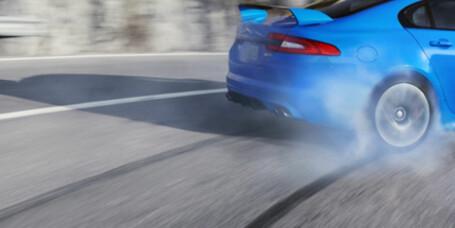 Jaguar XFR-S sluppet løs