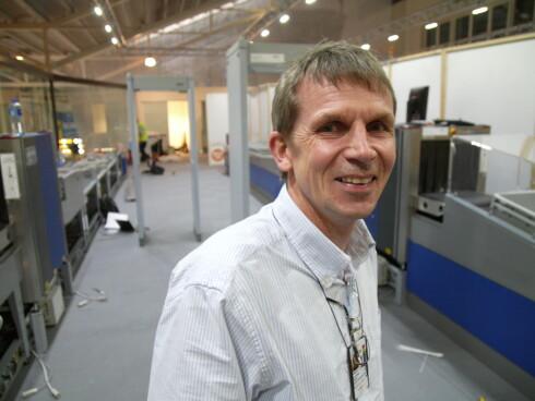 Sjef for teknikk og kundeservice ved Stavanger lufthavn, Morten Wathne.