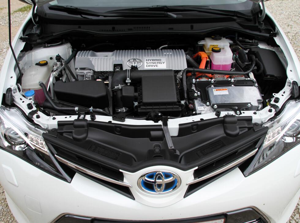 Den nye garantien er skreddersydd hybridsystemene fra Toyota. Foto: Fred Magne Skillebæk