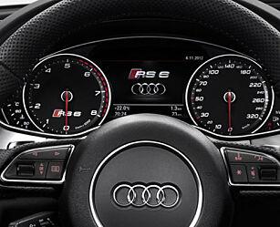 image: Audi RS 6 Avant sprenger grenser