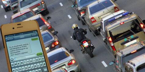 image: Slik varsler de deg om trafikktrøbbel
