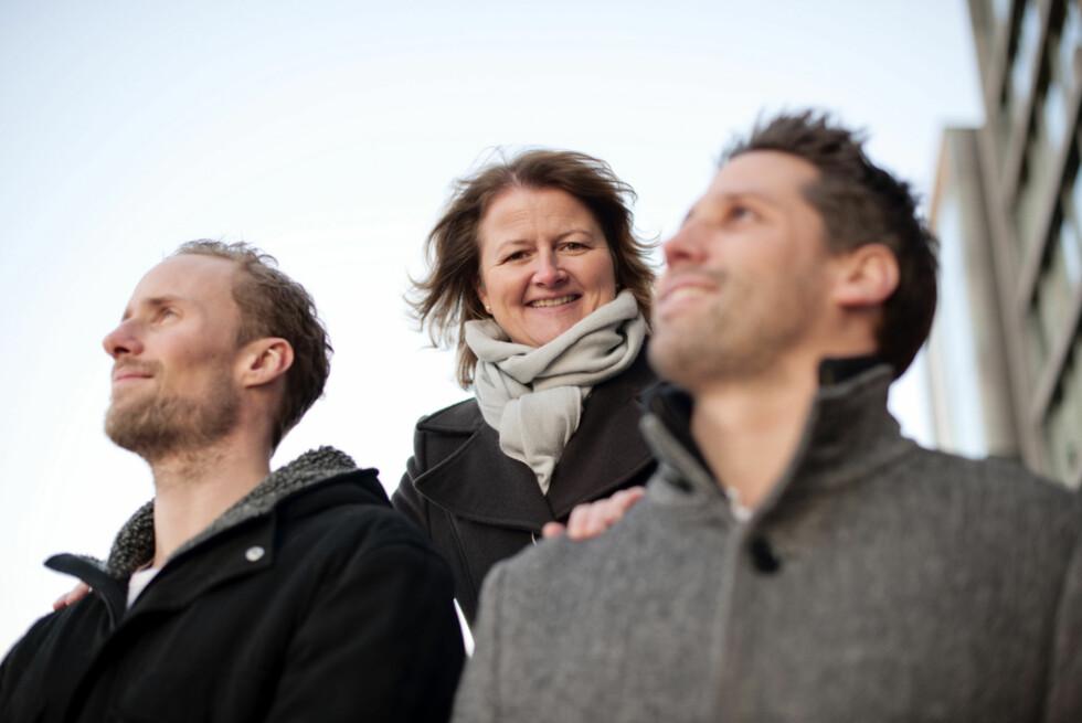 Småbedriftøkonom Ellen Dokk Holm lar seg begeistre over alle som vil starte sin egen bedrift. Foto: DNB