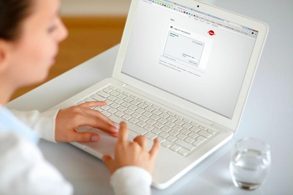 Bank-ID kan nå brukes til innlogging på flere offentlige nettsteder Foto: Ole Petter Baugerød Stokke/All Over Press