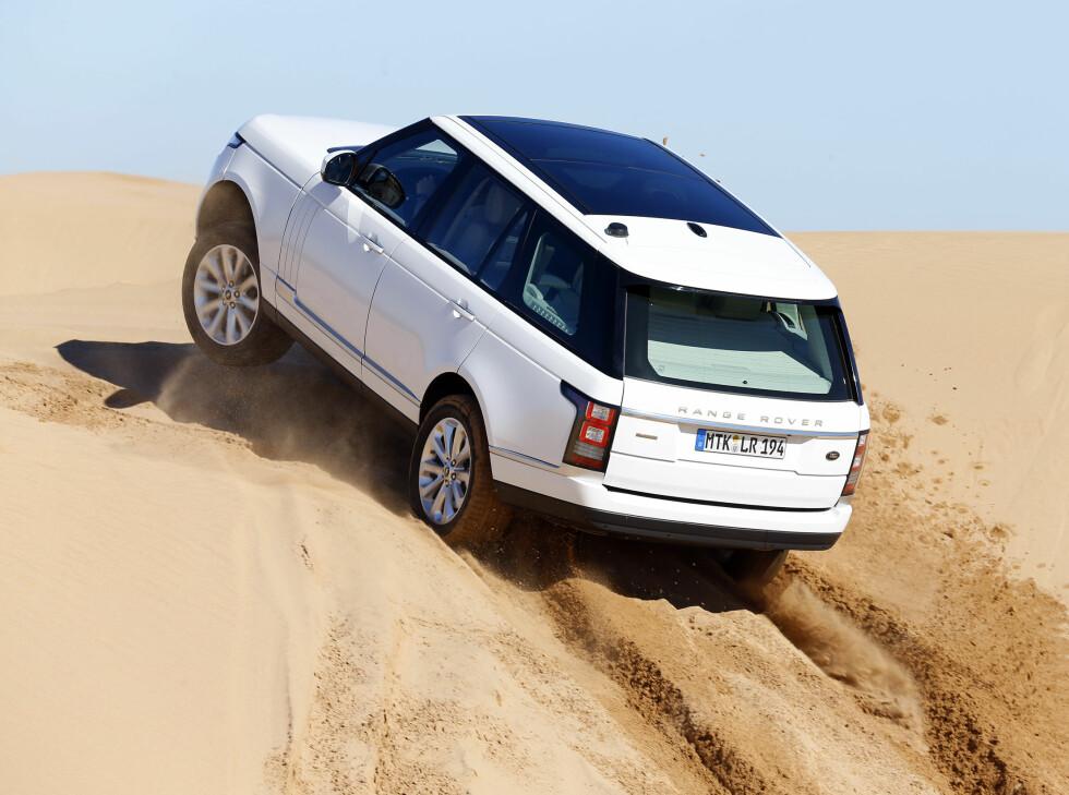 Det er en langt mer spenstig Range Rover som nå kommer på markedet.
