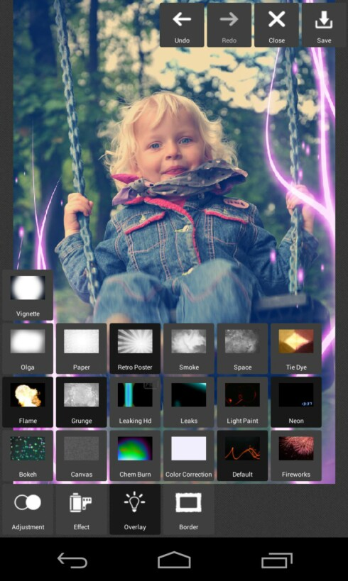 Pixlr express for Android