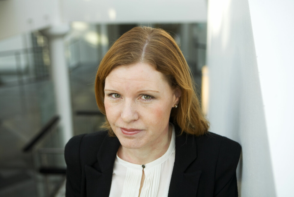 Forbrukerøkonom i Nordea, Christine Warloe, er bekymret for unge boligkjøpere som tror at den lave renta er den nye normalen.  Foto: Nordea
