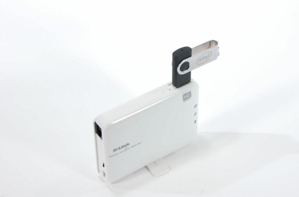 Plugg inn minne med egne data, for tilgang til mer fra mobil og nettbrett. Foto: Brynjulf Blix