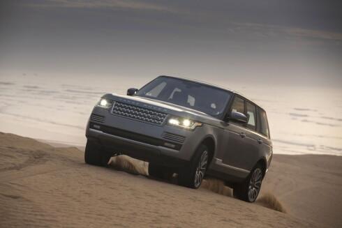 Range Rover Hybrid anno 2013