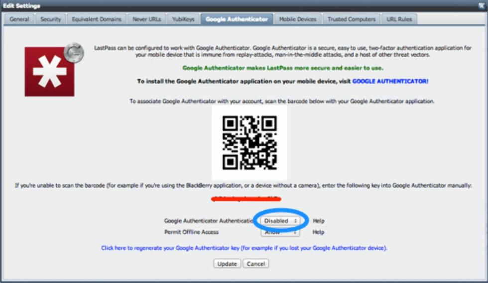 Unike passord på alle nettsteder