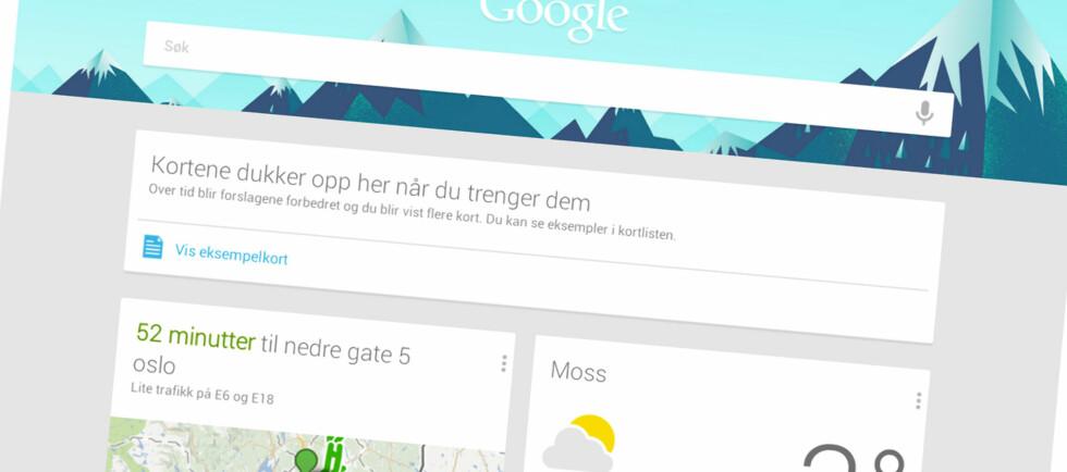 Den nye Google Now-funksjonen gir deg informasjon uten at du trenger å løfte en finger.