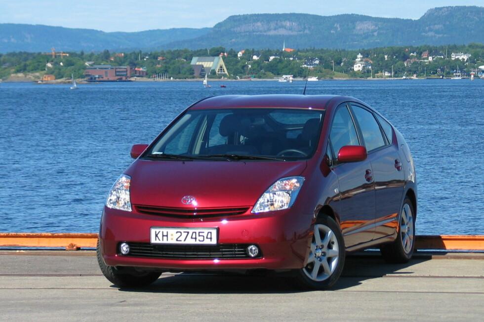 Blant annet Toyota Prius fra mellom 2003 og 2009 er berørt av tilbakekallingen. Foto: DinSide