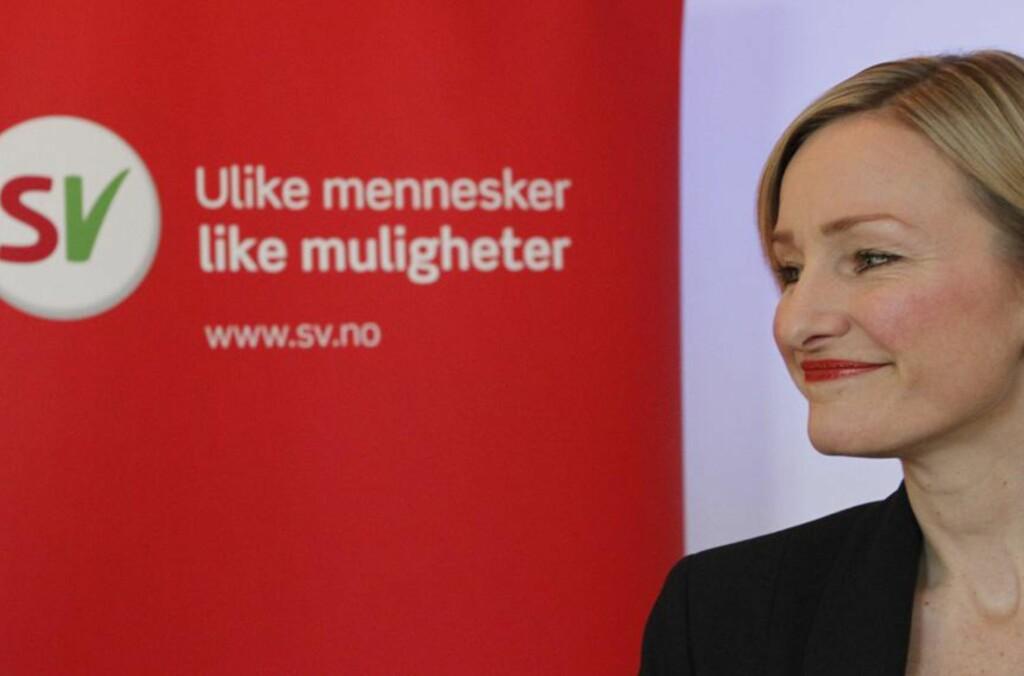 Unge kan ikke kjøpe bolig uten hjelp fra foreldrene, mener Inga Marte Thorkildsen: - Jeg klarte det fordi jeg begynte på Stortinget, sier hun. Foto: Thomas Vermes/ABC Nyheter