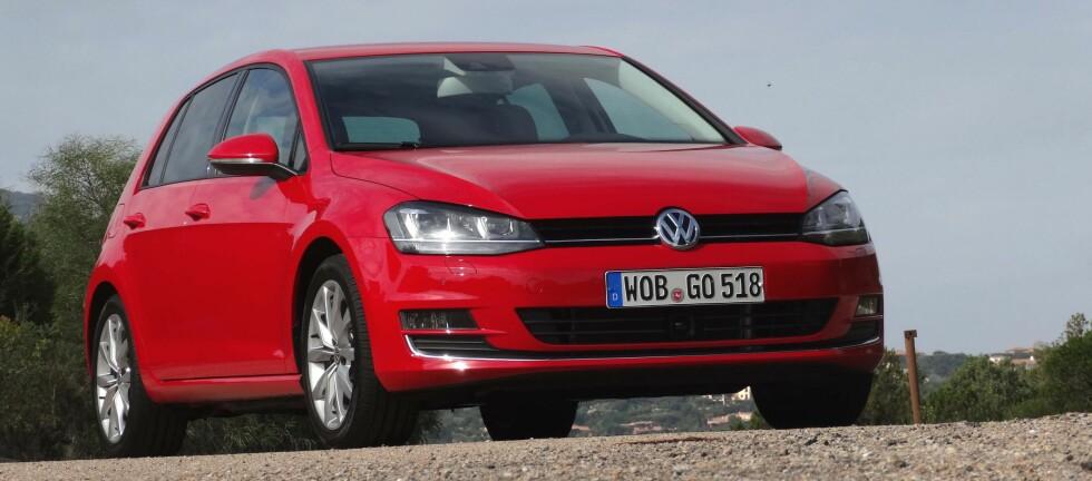 Den nye VW Golf generasjon 7 vil komme i hele tolv versjoner.