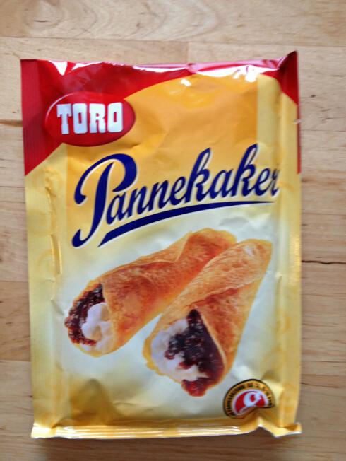 Toros pulvervariant av pannekakerøre er det beste alternativet om du har det travelt. Foto: Berit B. Njarga
