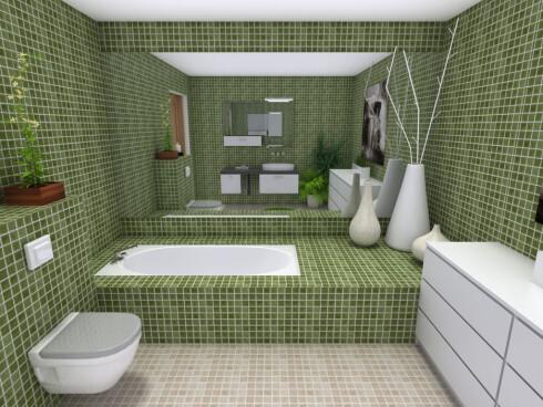 Med 3D Walkthrough kan du ta en virtuell rundtur i boligen fra sofaen hjemme.  Foto: RoomSketcher