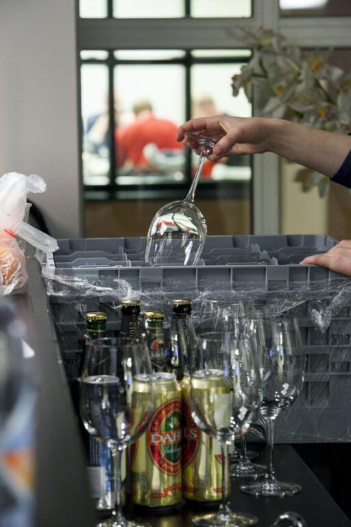 Smakene kommer best frem i store vinglass. Foto: Per Ervland