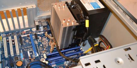 Core i5 på Intel hovedkort