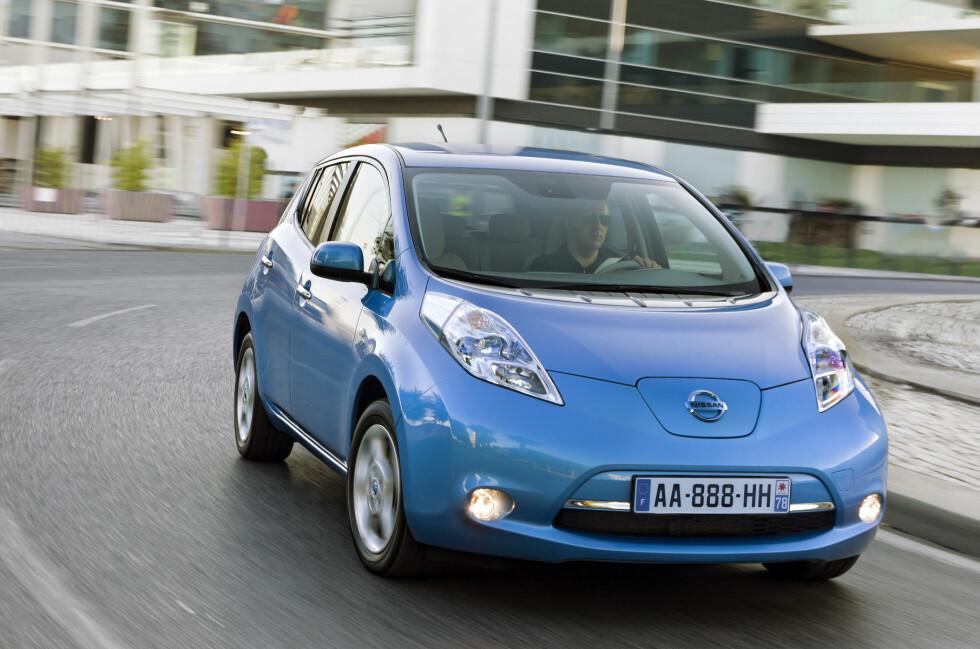 Nissan Leaf var den 9. mest solgte bilen i Norge i oktober, i et stadig voksende marked.