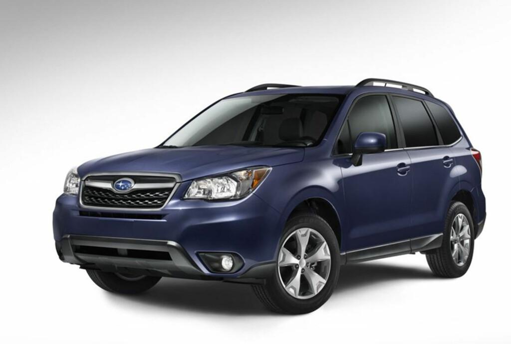 INGEN REVOLUSJON: Nye Subaru Forester, som skal vises i Los Angeles senere denne måneden. Den skiller seg noe fra modellene som kommer hit i første del av 2013, forteller importøren. Foto: Subaru