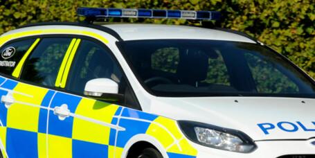 Ford Focus ST som politibil