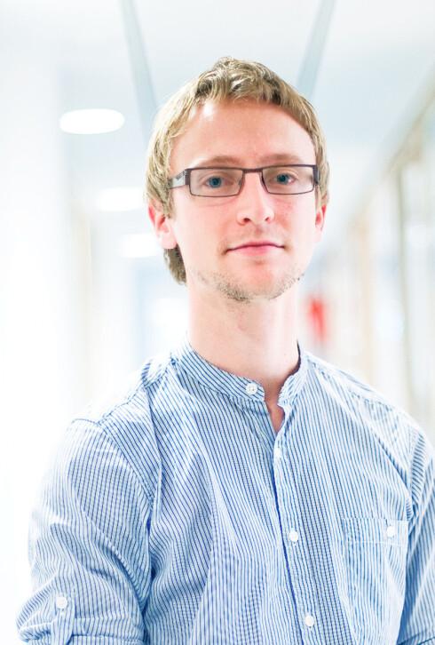 VINN/VINN: Kollegene til kommunikasjonsansvarlig Espen Schiager hos Altibox sørger for å varsle kunder som kan ha virus. Da bidrar de til et virusfritt internett, noe alle parter vinner på.  Foto: Altibox