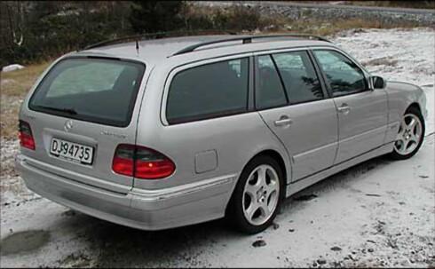 Mercedes er blant merkene som slet med rust for en del år tilbake. Men de er langt i fra de eneste som har slitt. Foto: Knut Usterud-Svendsen