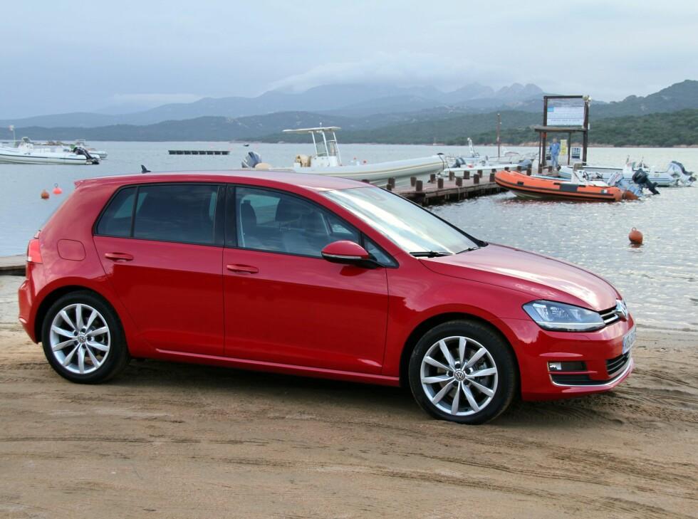 DÅRLIG RYKTE: VW Golf har fått et dårlig diesel-rykte, men leverer under faktisk bruk.  Foto: FRED MAGNE SKILLEBÆK