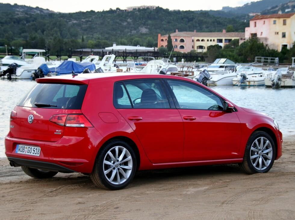 Golf kommer til å fortsette som Norges mes solgte bil, også etter lanseringen av generasjon 7. Foto: Fred Magne Skillebæk