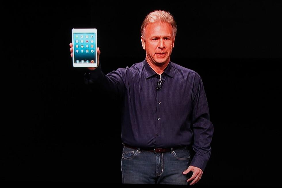 Her er den, nye iPad Mini.