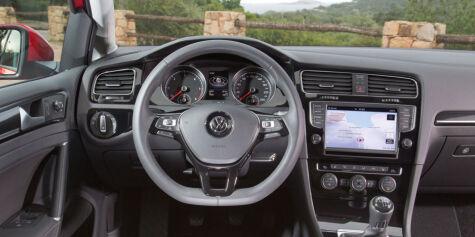 image: DinSide kjører nye VW Golf