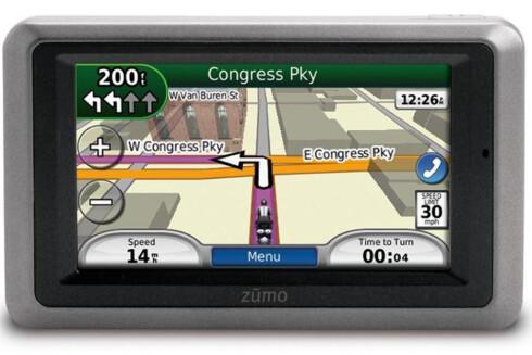 VET HVOR DU ER: At GPS-en vet hvor du befinner deg er naturlig nok. Ikke like opplagt er det at den også lagrer og deler bevegelsene dine.  Foto: Garmin