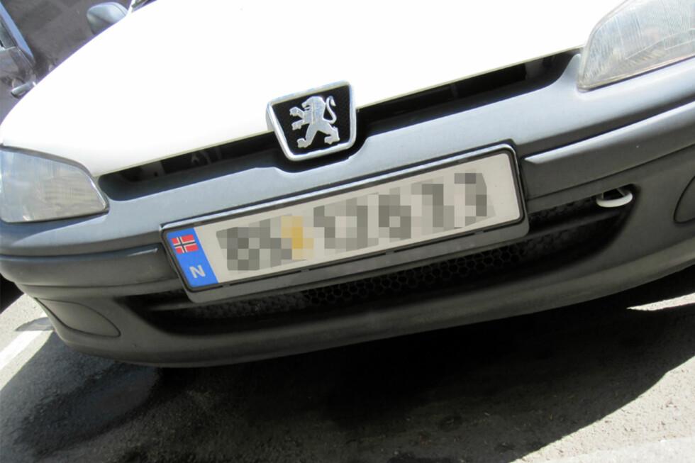Det blir anmeldt stadig flere tyverier av norske kjennemerker.