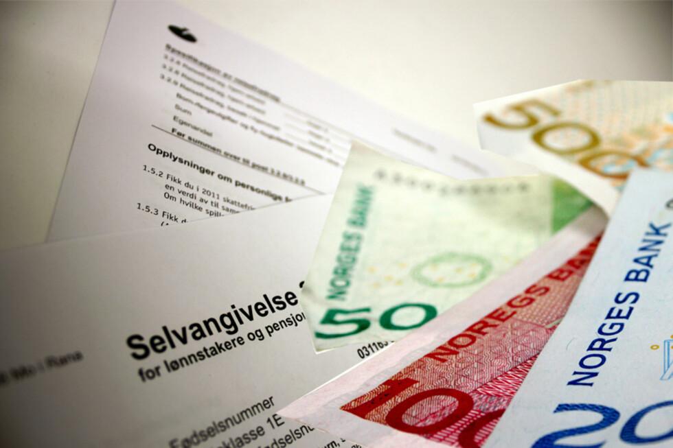 SKATTEOPPGJØRET: Nytt fra i år er at du må be om å få skatteoppgjøret på papir, om du ønsker det. Foto: ILLUSTRASJON