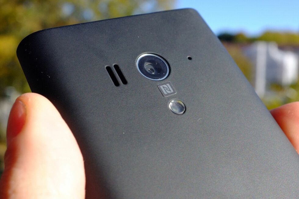 IKKE GODT NOK: På en telefon i denne prisklassen hadde vi forventet mer av kameraet enn hva Sony Xperia Acro S klarer å tilby. Foto: Ole Petter Baugerød Stokke