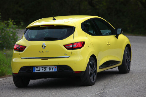 MORSOM Å KJØRE: Nye Renault Clio er velbalansert og har en fin og direkte styring.