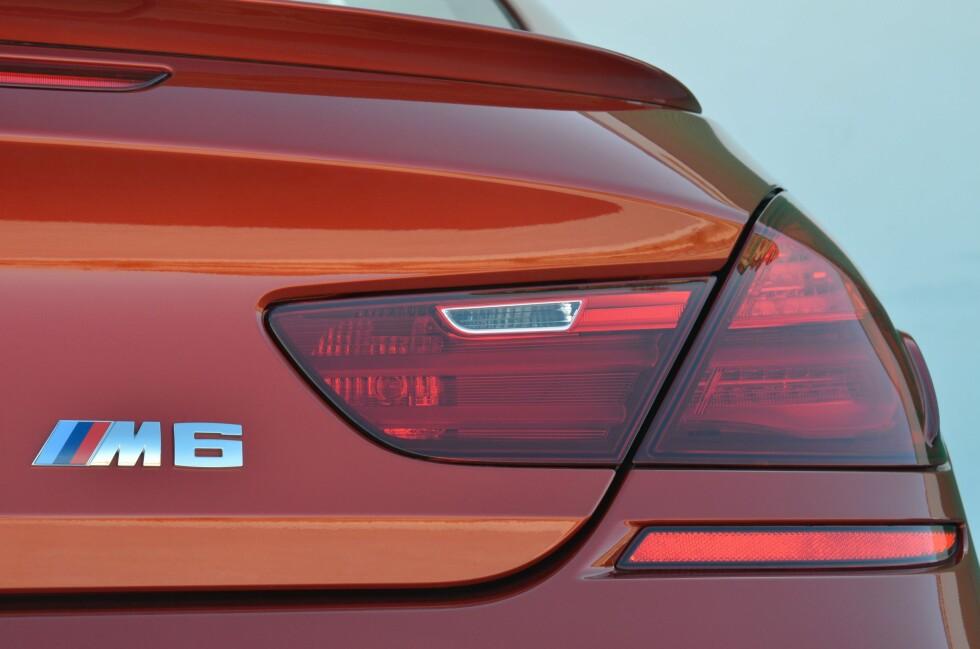 Dette er den store avgiftsvinneren! BMW M6. Hvem skulle trodd det? Foto: Fred Magne Skillebæk