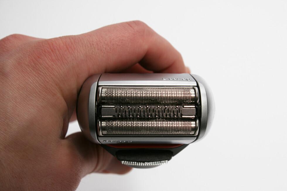 ULIKE FLATER: Slik har mange av Brauns barbermaskin sett ut i flere tiår, selv om innmaten ikke lenger er helt den samme.